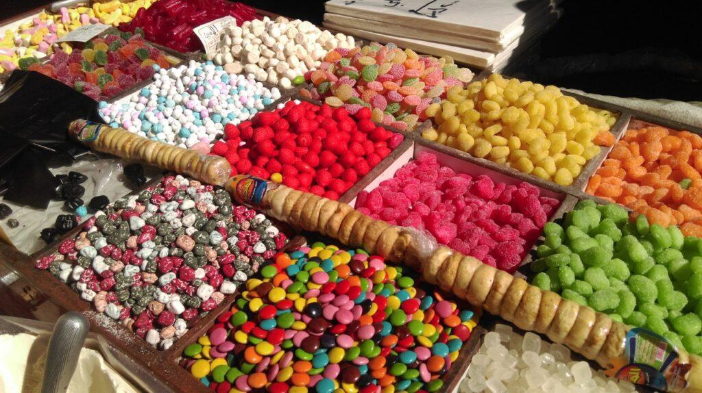 acheter des bonbons