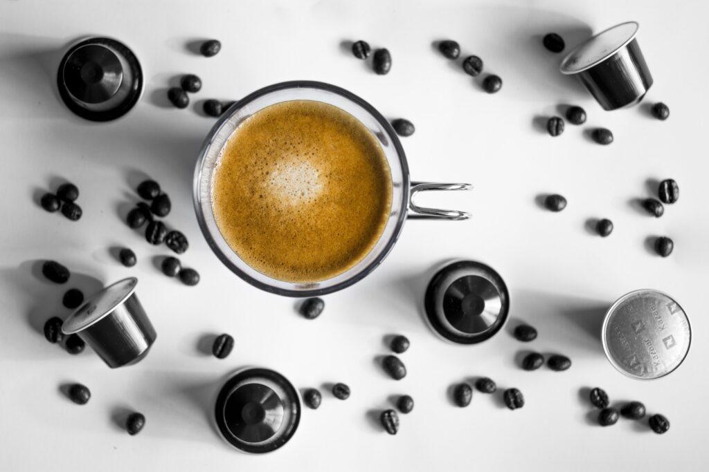 renouvellement des capsules de café