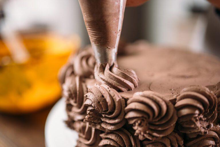 décor en chocolat