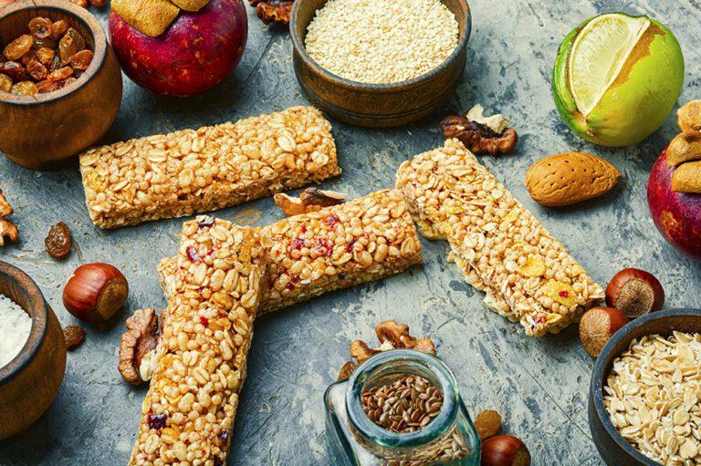 barre de céréales naturelle